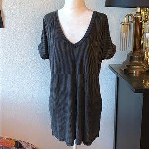 Brandy 💖 Melville super soft striped shirt dress